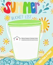 Create Your Summer Bucket List