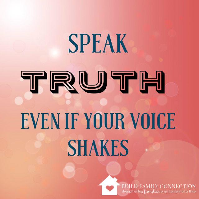 Speak Truth Graphic