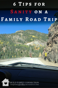 6 Tips for Sanity on a Family Road Trip