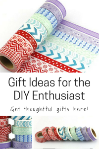 Gift Ideas for the DIY Enthusiast DIY-er DIY lover washi tape