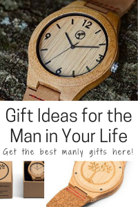 Gift ideas for the man in your life wooden watch wooden band