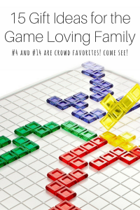 Gift ideas for the game loving family