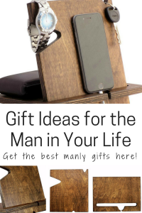 Gift ideas for the man in your life wooden docking station
