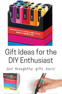Gift Ideas for the DIY Enthusiast DIY-er DIY lover paint based pens color