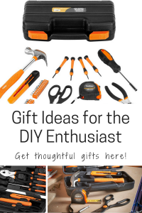 Gift Ideas for the DIY Enthusiast DIY-er DIY lover personal tool set