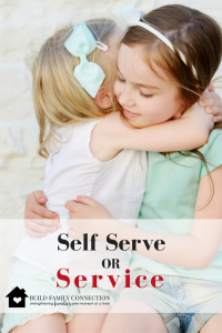 Self-Serve or Service?